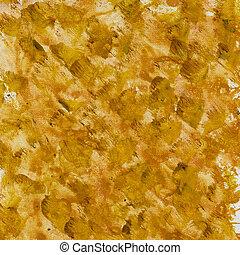 marrom, lona, esguichos, amarela
