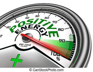 medidor, conceitual, positivo, energia