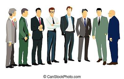 meeting.eps, pessoas negócio
