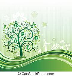 meio ambiente, fundo, natureza