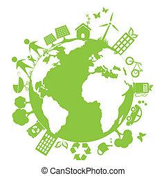 meio ambiente, verde, limpo