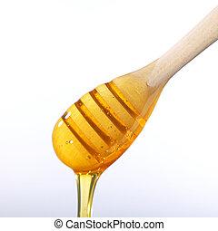 mel, líquido