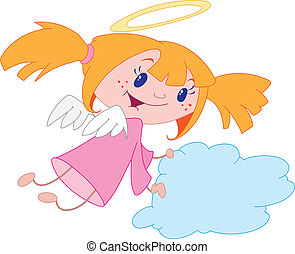 menina, anjo
