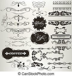 mercado de zurique, desenho, cobrança, calligraphic