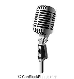 microfone, clássicas