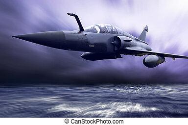 militar, airplan, velocidade