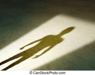 misteriosa, sombra