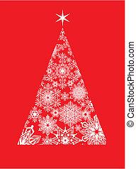 modernos, cartão natal, saudação
