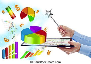 modernos, trabalho, dispositivos, eficiência, digital, avaliação