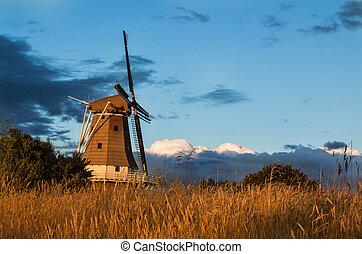 moinho de vento, verão