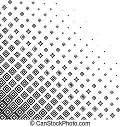 monocromático, halftone, abstratos, fundo