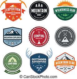 montanha, emblemas