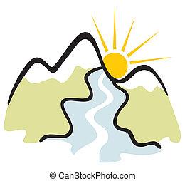 montanha, símbolo