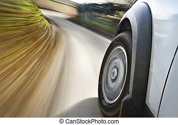 movimento, car