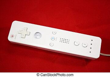 movimento, gaming, controlador, controlado