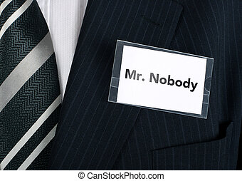 mr., ninguém