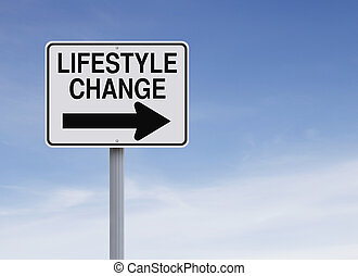 mudança, estilo vida