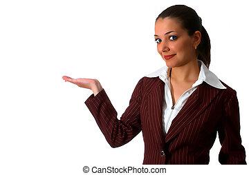 mulher, 4, negócio