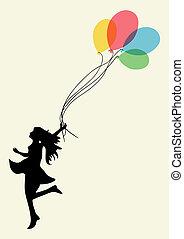mulher, felicidade, realização