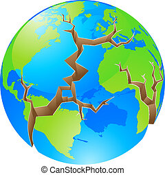 mundo, conceito, crise
