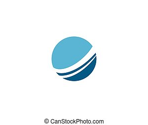 mundo, fio, logotipo