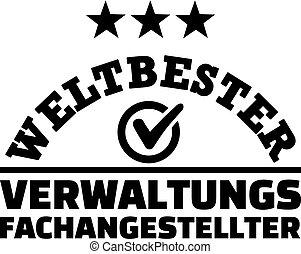 mundos, alemão, assistente, macho, administrativo, melhor
