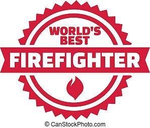 mundos, bombeiro, melhor