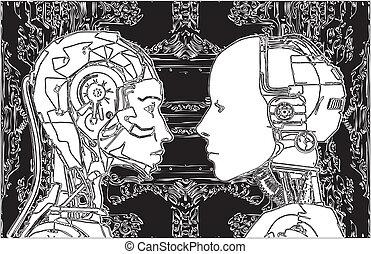 não, tecnologia, androids, concorde