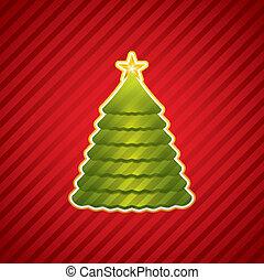 natal, criativo, árvore