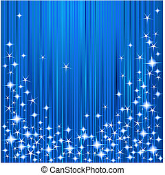 natal, listras estrelas