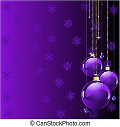 natal, violeta, cores