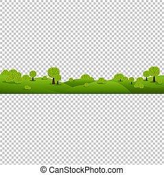 natureza, isolado, experiência verde, transparente, paisagem