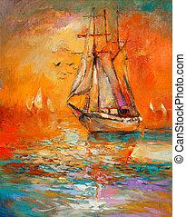 navio, oceânicos