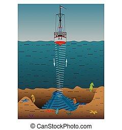 navio, sounder, eco