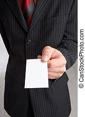 negócio-cartão