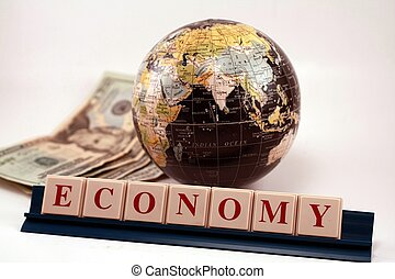 negócio, economia, global, comércio mundial
