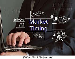 negócio, inscrição, mercado, sheet., conceito, cronometrando, significado