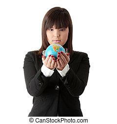 negócio mulher, globo
