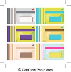negócio, texto, desenho, lugar, seu, cartão