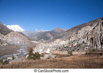 nepal, vila