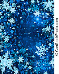 neve azul, fundo