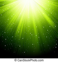 neve, eps, verde, estrelas, 8, queda, rays.