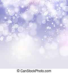 neve, fundo, xmas