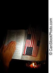 nosso, nação, rezar