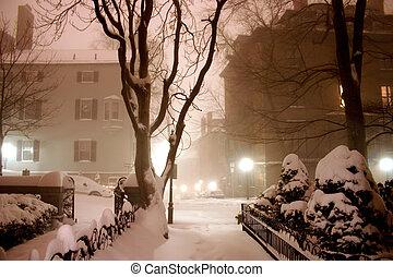 noturna, inverno