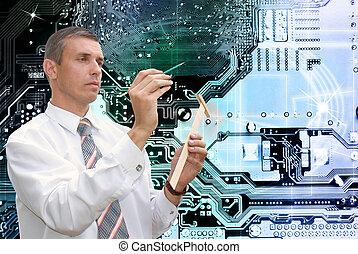 novo, computadores, tecnologia