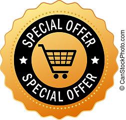 oferta, especiais, ícone
