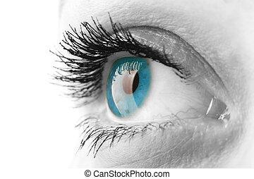 olho mulher