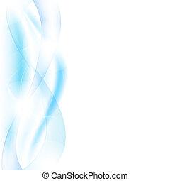 ondas azuis, borrão