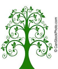 openwork, árvore